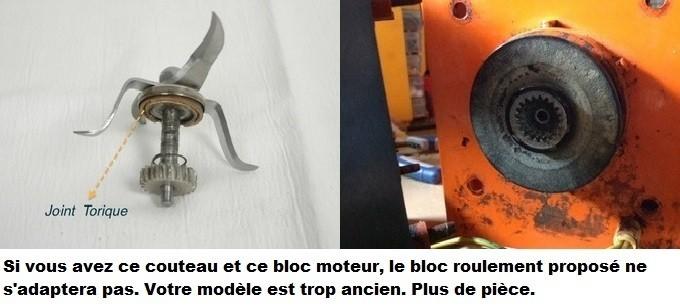 Bloc couteau sans lames thermomix vm2200 2002 2000 vorwerk - Thermomix avis consommateur ...