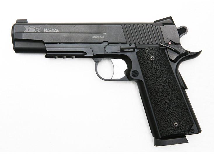 pistolet a billes co2 sig sauer gsr sigarms avenir peche comboire. Black Bedroom Furniture Sets. Home Design Ideas