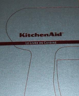livre de cuisine kitchenaid pour robot artisan 120 recettes mena isere service pi ces. Black Bedroom Furniture Sets. Home Design Ideas