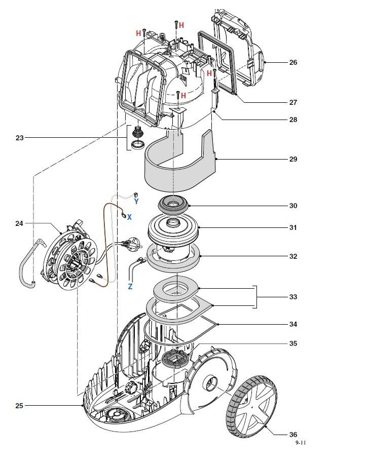 pi u00e8ces et accessoires pour aspirateurs philips fc8768