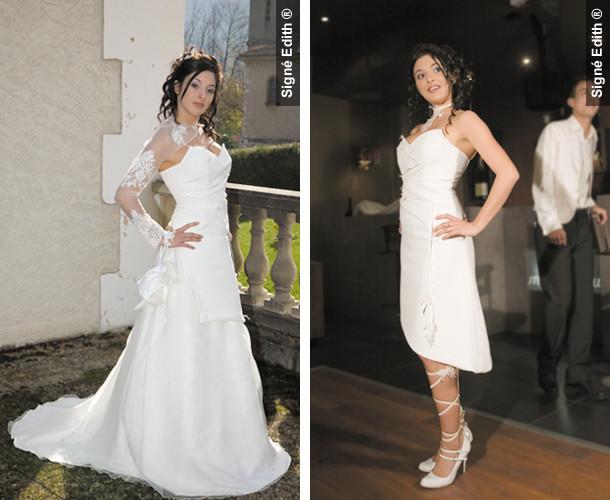 Robe de mariée modulable PENSAELLE grenoble - Robes de mariée long ...