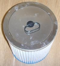 cartouche filtre poussières fines Aquavac AZ9030875