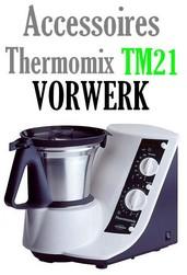Accessoires Robot Thermomix Vorwerk TM21 bol couteaux joint