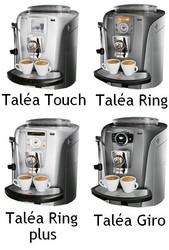 Pièces détachées Taléa Touch, Ring plus, Ring et Giro Saeco