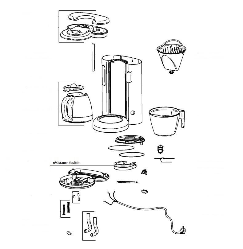 Schema De Montage Machine A Cafe Braun