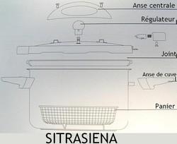 Pièces détachées cocotte Sitrasiena Sitram