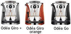 Machine café Odéa Giro plus, Giro orange, Go Saeco