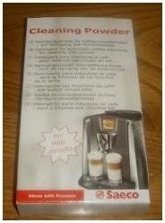 detergent machine cafe Saeco primea cappuccino circuit lait