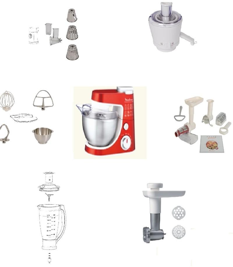Accessoires et pi ces masterchef gourmet moulinex mena for Six accessoires